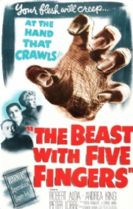 The Beast with Five Fingers 1946 DVD - Robert Alda / Peter Lorre